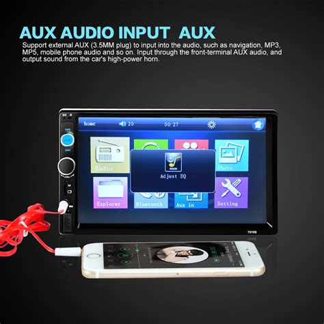 Usb Player Untuk Mobil audio player mobil universal bluetooth touch screen