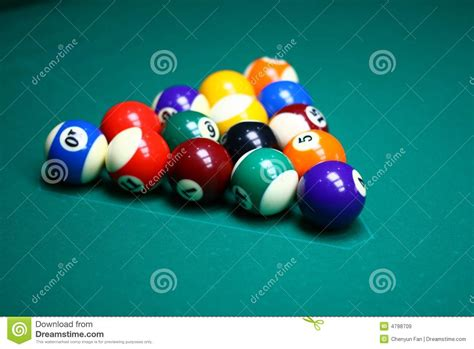 How To Rack 9 Pool by 9 Rack Of Billiard Balls Royalty Free Stock Images