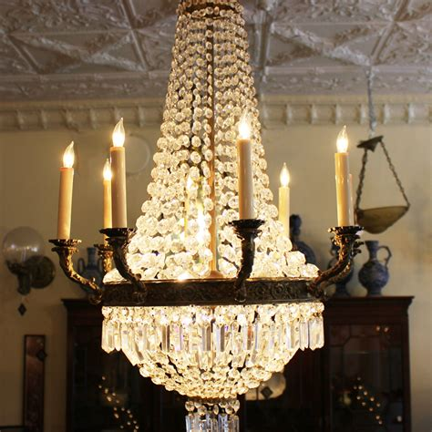 How To Decorate A Chandelier With Crystals Chandelier