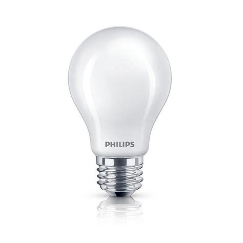 Lu Philips Led 8 Watt philips 40 watt equivalent soft white classic glass energy
