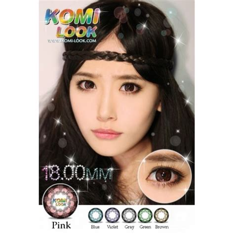 Promo Softlens New More Dubai Mps265 jual softlens komi look 18mm softlensmurahku