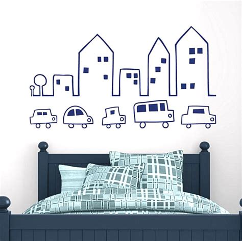 wall stickers city 20 creative wall decals for