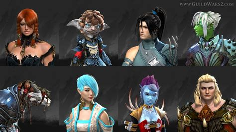 new face options all races male female guild wars 2 gw2 new hairstyles hairstylegalleries com