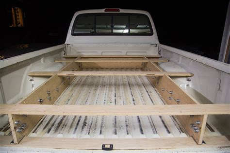 truck bed drawers plans what this guy built is brilliant and going to make truck