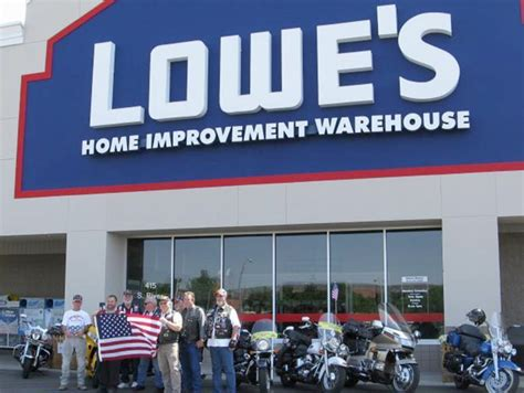lowe s donates flags to patriot guard of southern utah