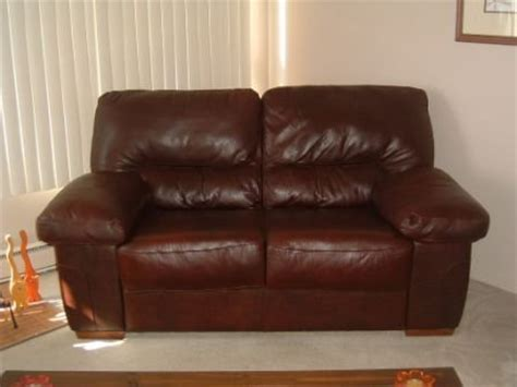 furniture sale contemporary leather loveseat two pier