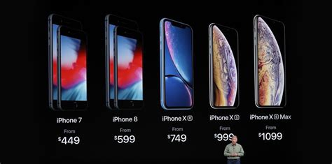 apple launches new iphone xs xs max and xr