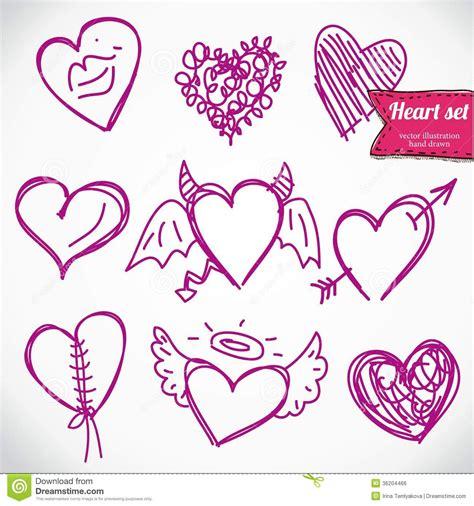 you doodle doodle icon set isolated royalty free stock image image