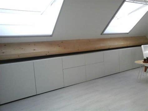 besta dachschräge ikea besta zolder dachboden dachschr 228 ge