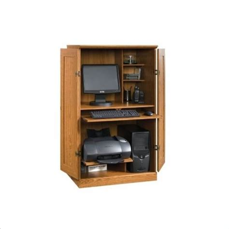 Cheap Computer Armoire Discount Buy Sauder Orchard Computer Armoire Govetes