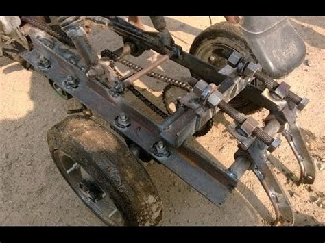 diy mechanical engineering projects two wheeler tractor attachment test 1 mechanical