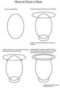 how to draw vase