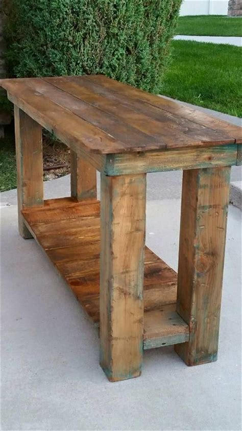 15 best ideas about pallet end tables on wood