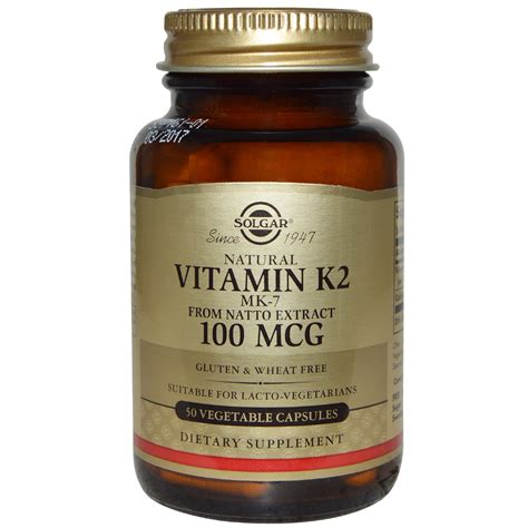 k 2 supplement solgar vitamin k2 100 mcg 50 veggie caps