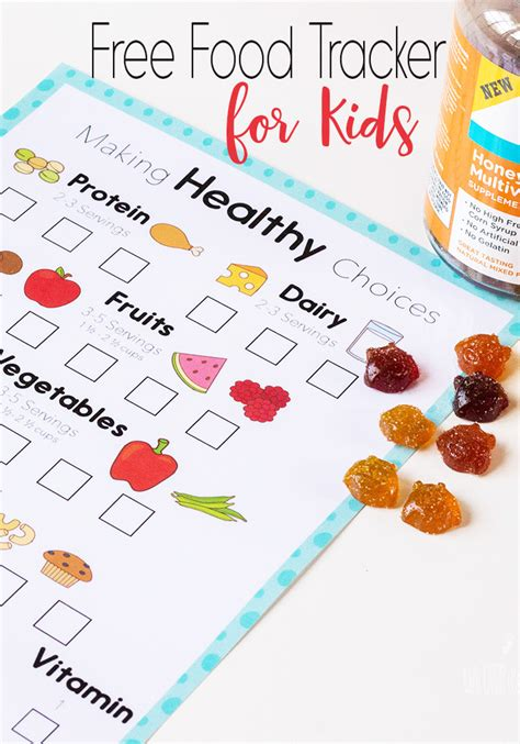 printable food journal for students get your kids to eat healthy with this free food tracker