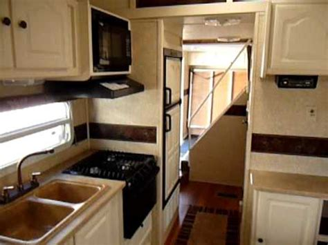Travel Trailers With Bunk Beds Floor Plans by 2009 Keystone Outback 29 Loft Toy Hauler Travel Trailer