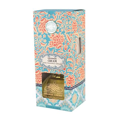 michel design works home fragrance diffuser 7 7 oz lemon basil orange cream home fragrance diffuser