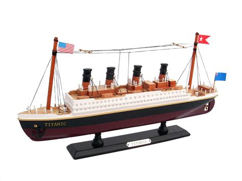 titanic toy boat rms titanic 14 quot wooden titanic toy model ship for kids