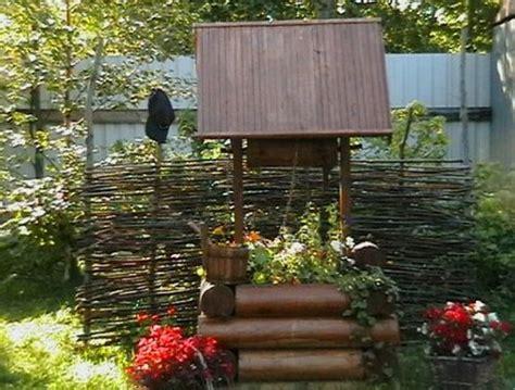 Pot Sumur Kayu sumur dekoratif foto build daily