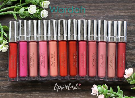 Review Dan Lipstik Matte Wardah wardah exclusive matte lip new shades swatches