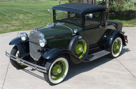 1931 ford paint colors