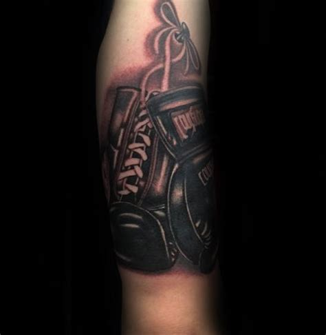 tattoo arm gloves 70 boxing gloves tattoo designs for men swift ink ideas