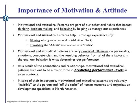Cd The Power Of Motivation the power of motivation and work attitude