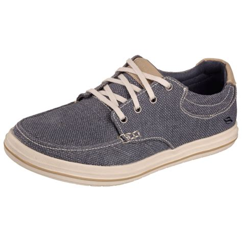 skechers define soden mens canvas shoe mens from cho