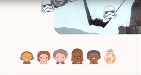 film con gli emoji star wars il risveglio della forza raccontato con gli