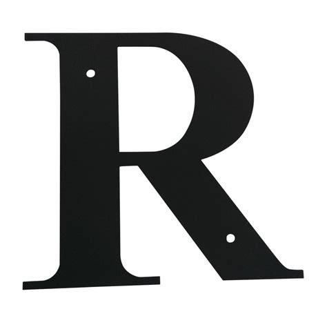 Village Wrought Iron: Letter R Medium R