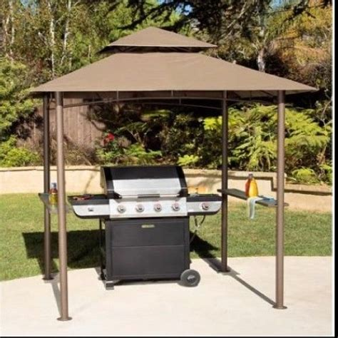 Hardtop Grill Shelter Gazebo Canopy Outdoor Patio Shade Outdoor Patio Grill Gazebo