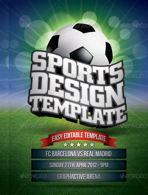 sports flyer template sports flyer template 41 free psd ai vector eps