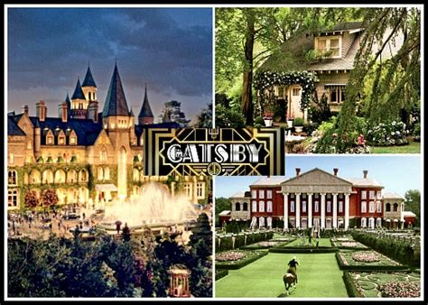 gatsby s house the sets from baz luhrmann s quot great gatsby quot including nick