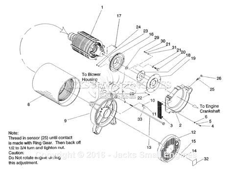 generac 4119 0 parts diagram for generator