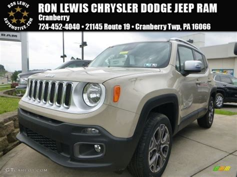 2015 mojave sand jeep renegade limited 4x4 105051518 photo 8 gtcarlot car color galleries