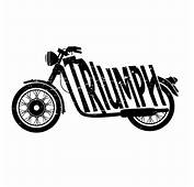 Triumph Motorcycles Logo Vector Background 1  Tshirt