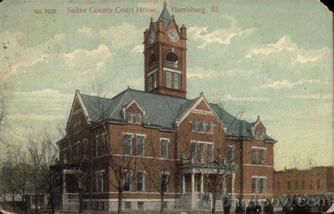 Saline County Illinois Court Records Saline County Court House Harrisburg Il