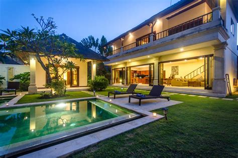 villa cemara seminyak bali villas  holiday  exotic bali