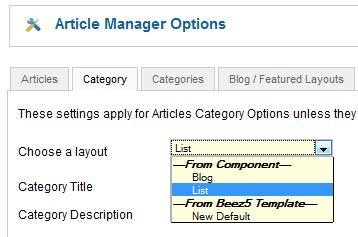 joomla category blog layout override layout overrides in joomla joomla documentation