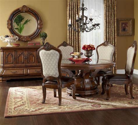 aico tuscano  dining table set  melange