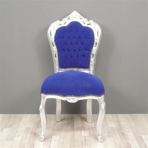Blue Chair Baroque Blue Chair Chairs Baroque