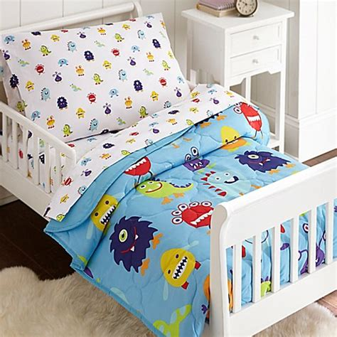 olive kids bedding toddler bedding sets gt olive kids monsters 4 piece toddler