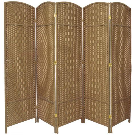 5 panel room divider 6 ft 5 panel room divider fbopdmnd5pnat the