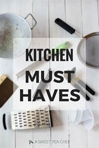 kitchen must haves list aspc s kitchen must haves a sweet pea chef