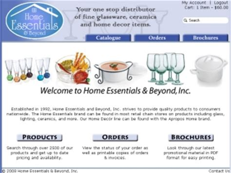 web portfolio home essentials beyond microalps
