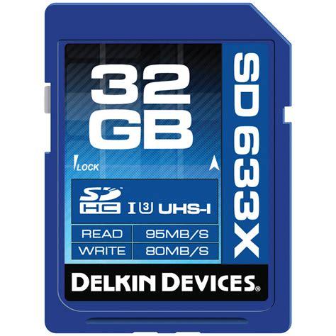 Memory Hp 32gb Class 10 delkin devices 32gb elite uhs i sdhc memory ddsdelite633 32gb