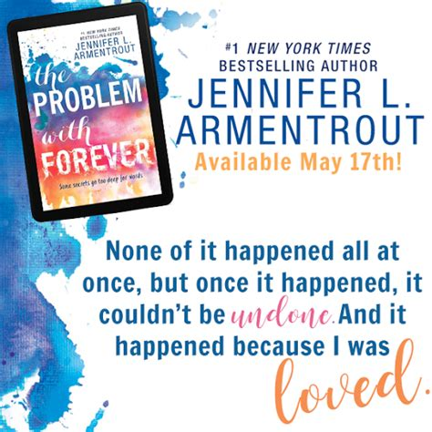 the problem with forever readers live a thousand lives review tour the problem with forever by jennifer l armentrout