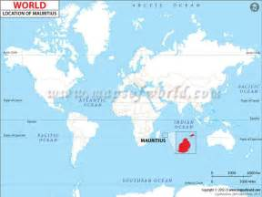 Mauritius On World Map by Where Is Mauritius World Maps Pinterest