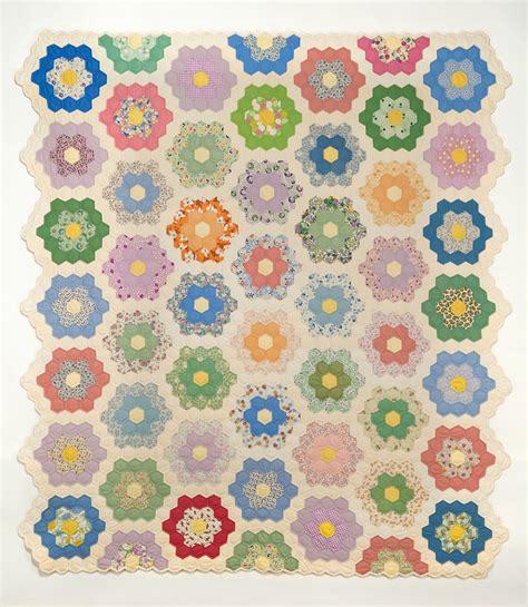 grandmother s flower garden susan dague quilts
