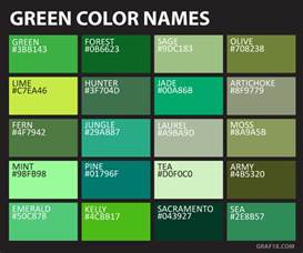 green colors names list of colors with color names graf1x